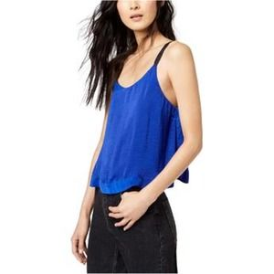 FREE PEOPLE Move Lightly Satin Cami XS OB832839